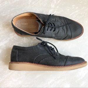 [Toms] Brogue Oxford Sneakers-Men's 8.5